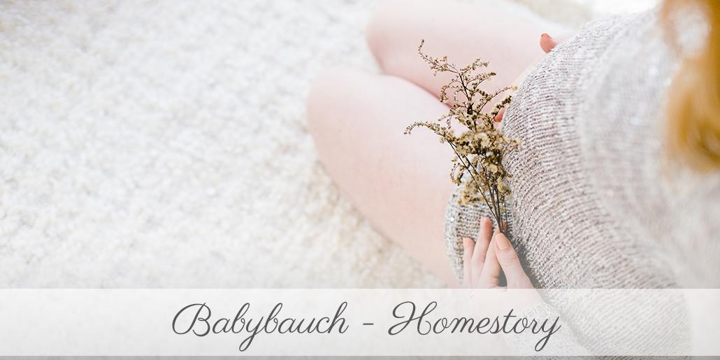 Babybauchshooting Kassel Homestory