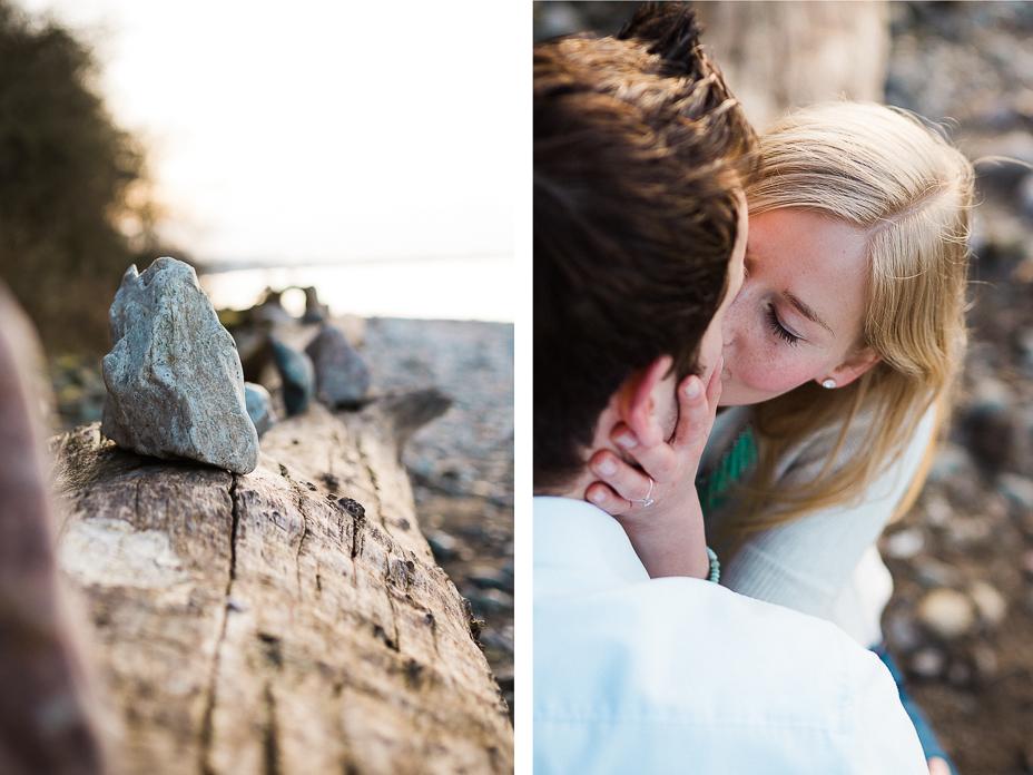 Engagementshooting Verlobungsshooting Strand Ostsee Timmendorf Brodtener Steilufer 2016 Inka Englisch Photography Kassel Hochzeitsfotograf Proposal Sonnenuntergang