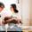 Die ersten Tage Babykuscheln Babyfotograf Kassel Neugeborenenshooting Babyshooting Neugeborenenfoto Homestory Fotograf Kassel Hann. Münden Göttingen Familienshooting zuhause Hund
