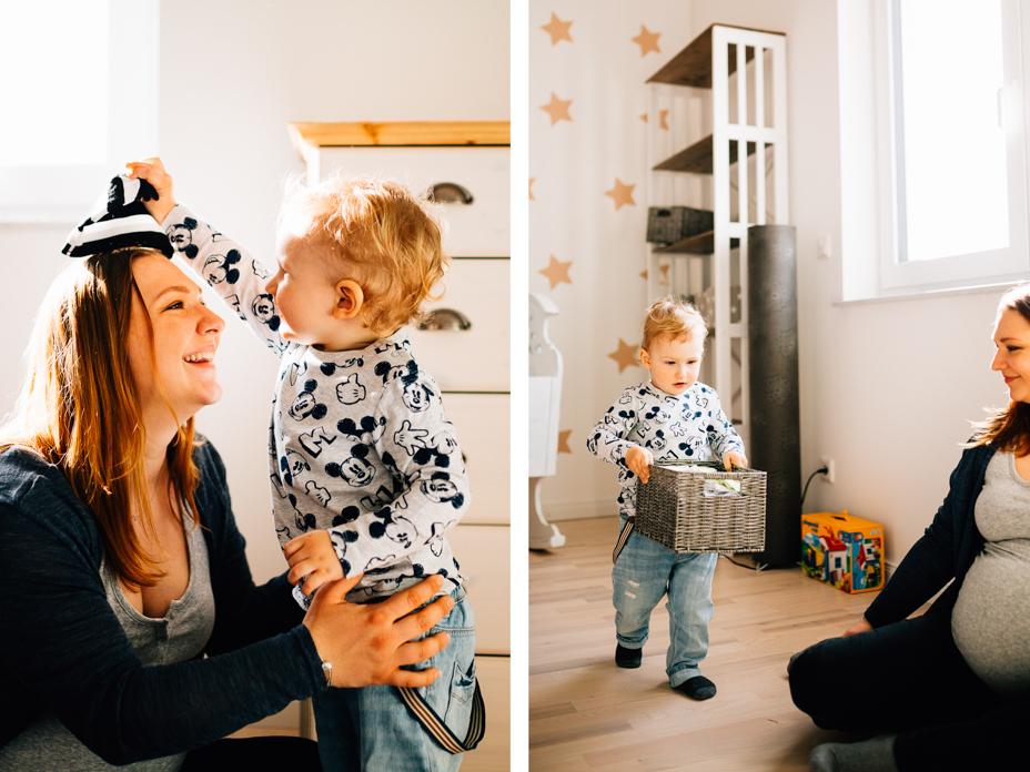 Babybauchfotograf Babybauchshooting Kassel Homestory Fotograf Kassel Frankfurt Göttingen Familienshooting zuhause