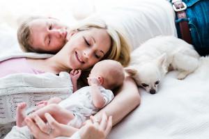 Neugeborenenfotografie Babyshooting zuhause Lifestyle Kassel