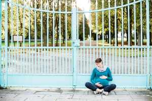 Babybauchshooting Schwangerschaft Kassel Lifestyle Sonnenuntergang