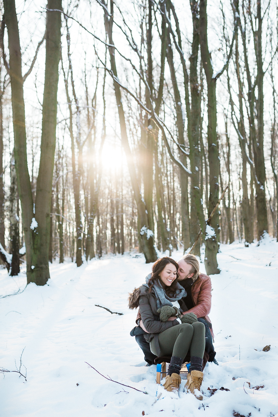 Liebesshooting im Winter ... Engagementshoot bei Kassel Wintershooting Schnee Pärchenshooting Coupleshooting Engagementshooting Kassel