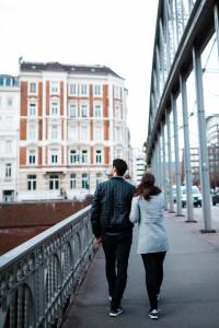 Engagementshooting in Hamburg Verlobungsshooting Speicherstadt Couple Pärchenshooting