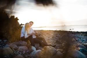Verlobungsshooting am Brodtener Steilufer Engagementshooting Verlobungsshooting Strand Ostsee Timmendorf Brodtener Steilufer 2016 Inka Englisch Photography Kassel Hochzeitsfotograf Proposal Sonnenuntergang