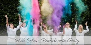 Junggesellinnenabschied an der Orangerie Kassel Hochzeitsfotografie Kassel JGA Fotoshooting Inka Englisch Photography Holi Farben Mädelsnachmittag
