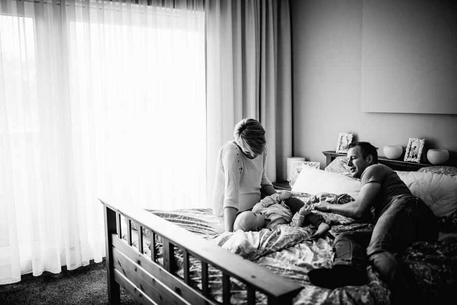 muckelige Babybauch-Homestory zu fünft bei Kassel 2020